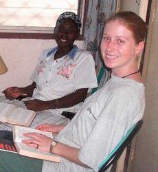 Une jeune MaZ au Congo