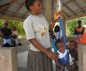 Soeur Odulia en Guinée-Bissau