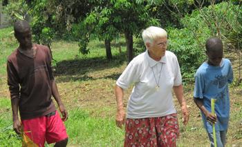 Soeur Simone et sa passion missionnaire