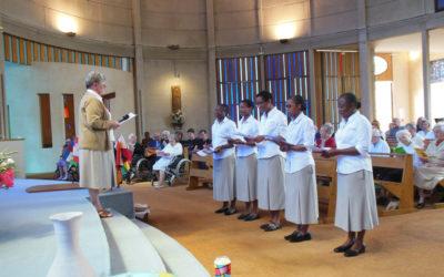 Profession chez les Spiritaines