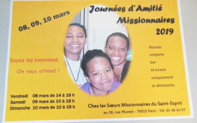 Journées d'Amitié Missionnaires