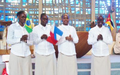 4 nouvelles Spiritaines consacrées pour la Mission
