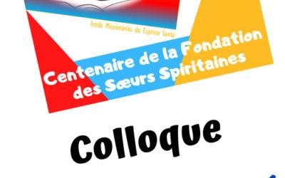 22 et 23 octobre, Colloque des Spiritaines